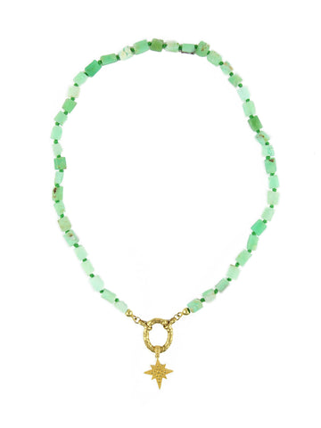 PERLA BY EENVOUD CHRYSOPRASE STAR