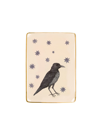 BIRDS WITH STAR TRAY