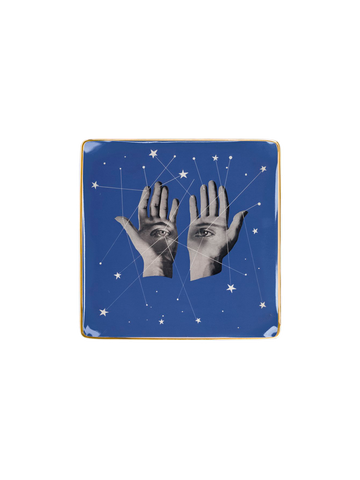 HANDS HERBERT BAYER PORCELAIN TRAY