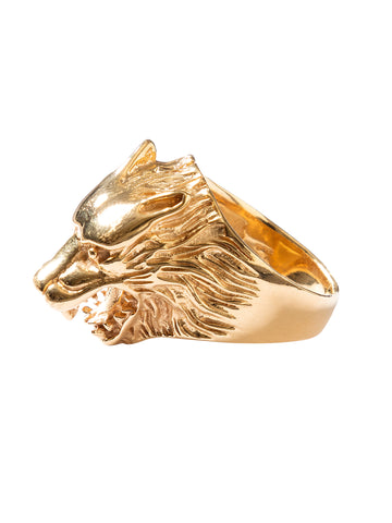 PERLA BY EENVOUD WOLF RING