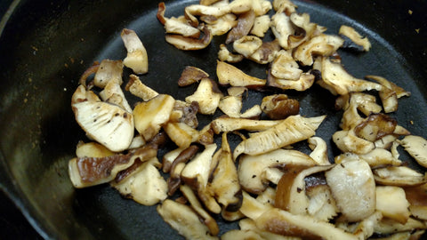 cooking shiitake