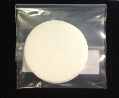 Synthetic Filter Disk (5 pieces) - Supplies - Asheville Fungi