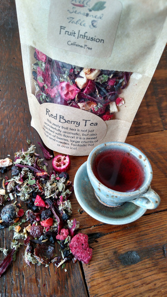 Red Berry Tea - Culinary - Asheville Fungi