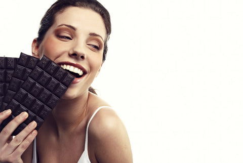 dark chocolate for fitness and healthy lifestyle