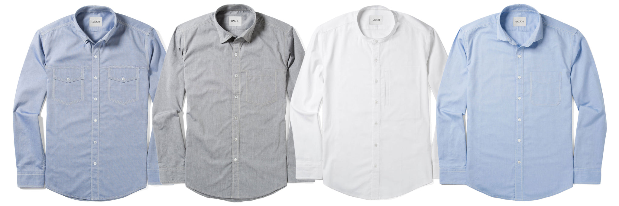 Types of Dress Shirts for Men from Casual to Formal