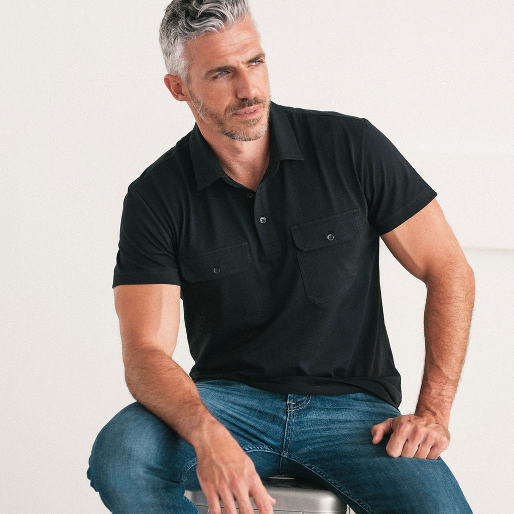 Short Sleeve Popover Shirts