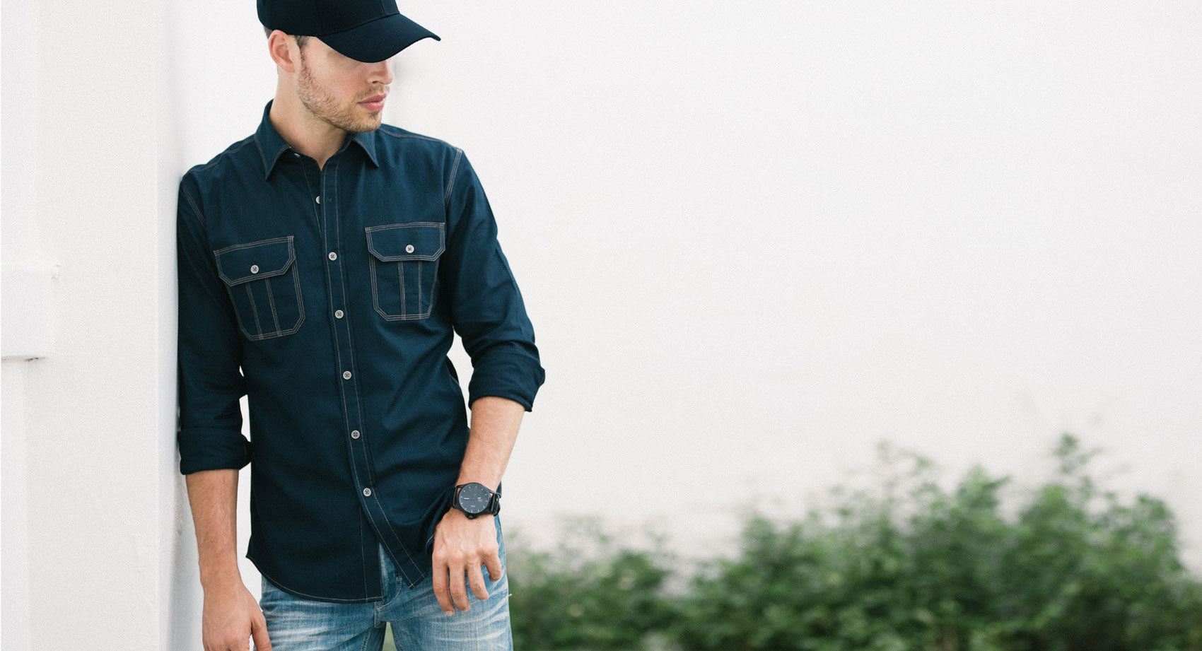 Light Grey Utility Shirt