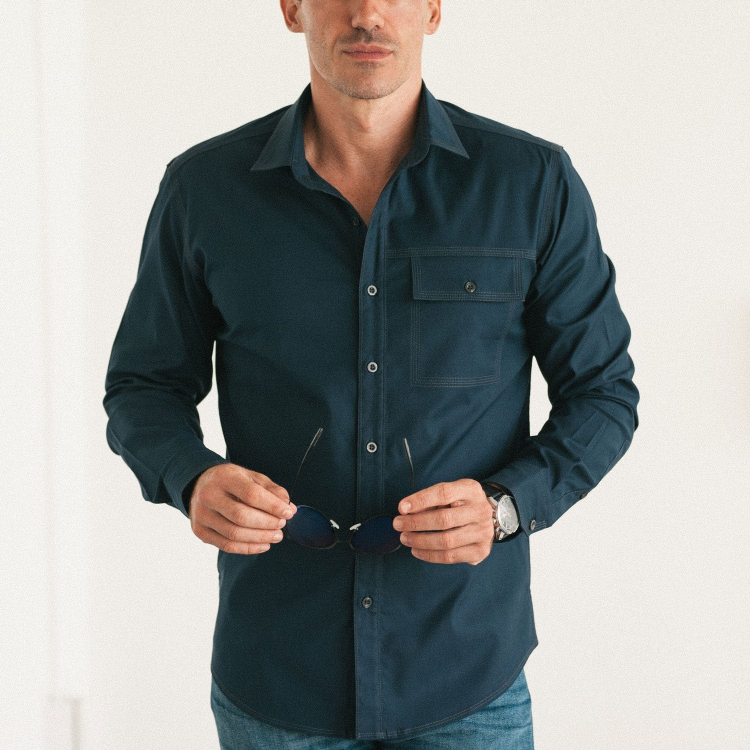 Men's Casual Shirt Boxy Fit Versus Correct Body Fit