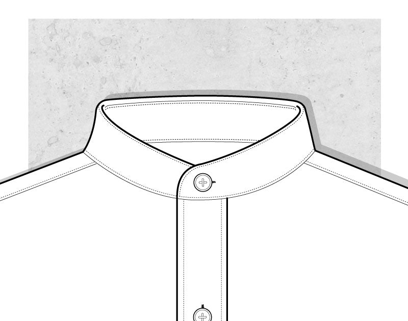 Band Collar Illustration