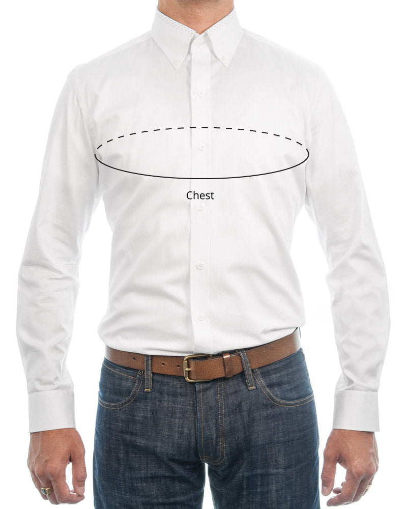 Chest Dress Shirt Measurements