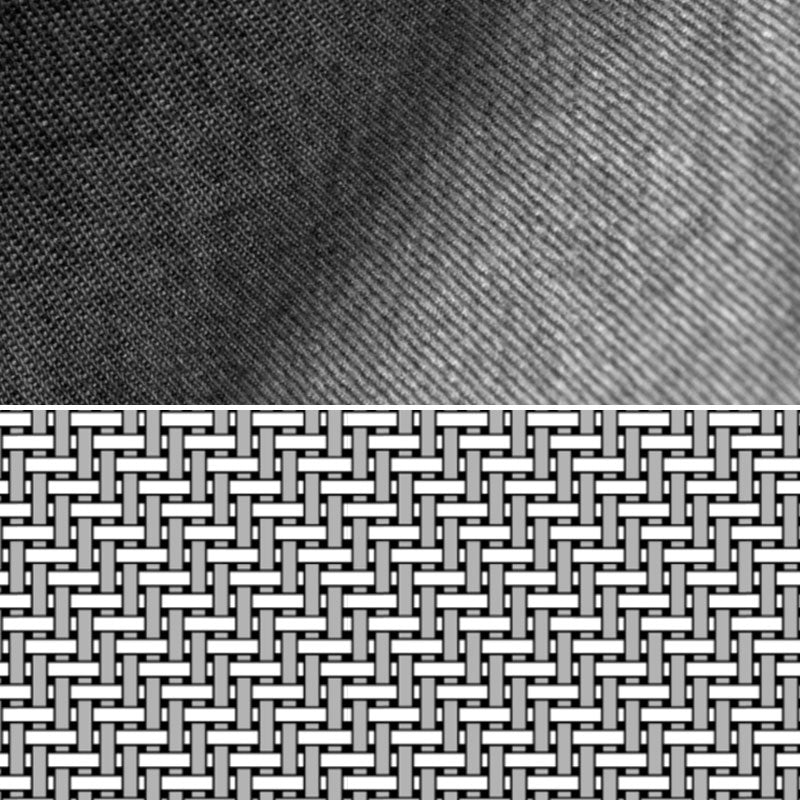 Denim Shirt Fabric Weave Detail