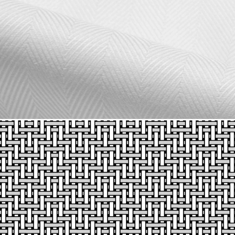 Herringbone Dress Shirt Fabric Weave Detail