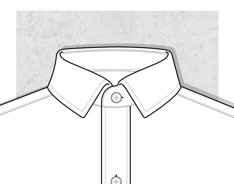 Narrow Collar Illustration