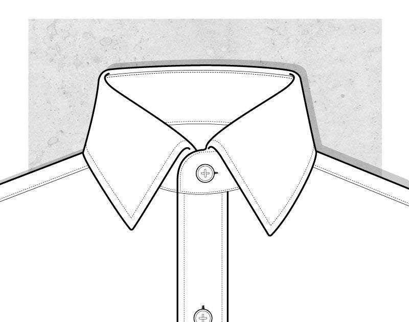 Point Collar Illustration