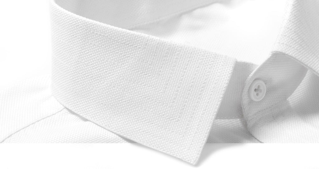 White Dress Shirt Collar