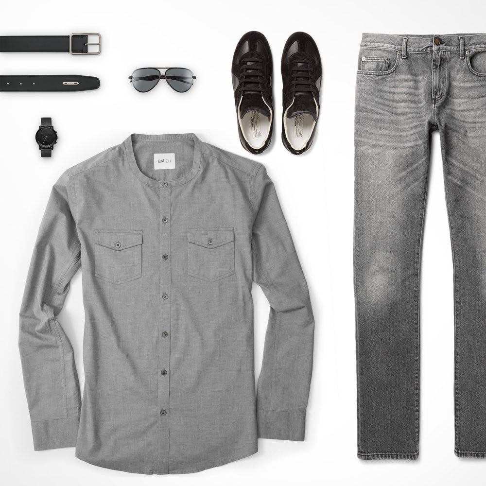 What Color Jeans Go With Olive Green Shirt