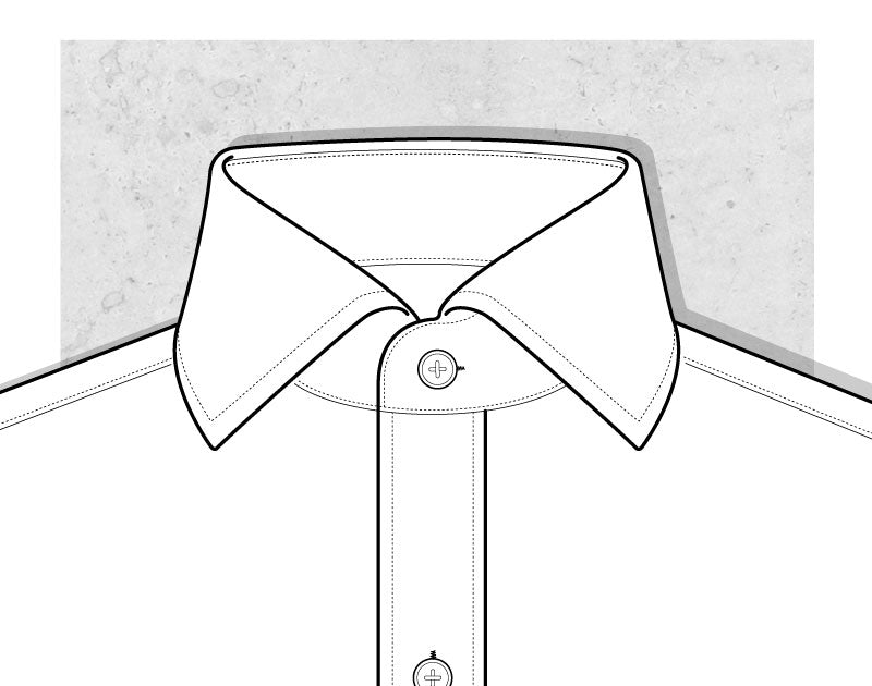 Spread Collar Illustration