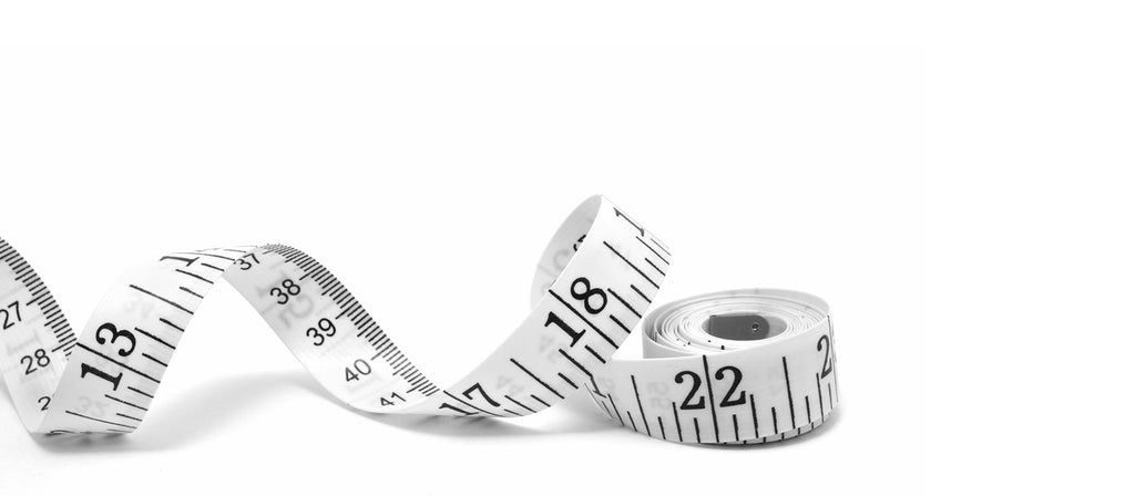 Tailors Tape Measure White Background