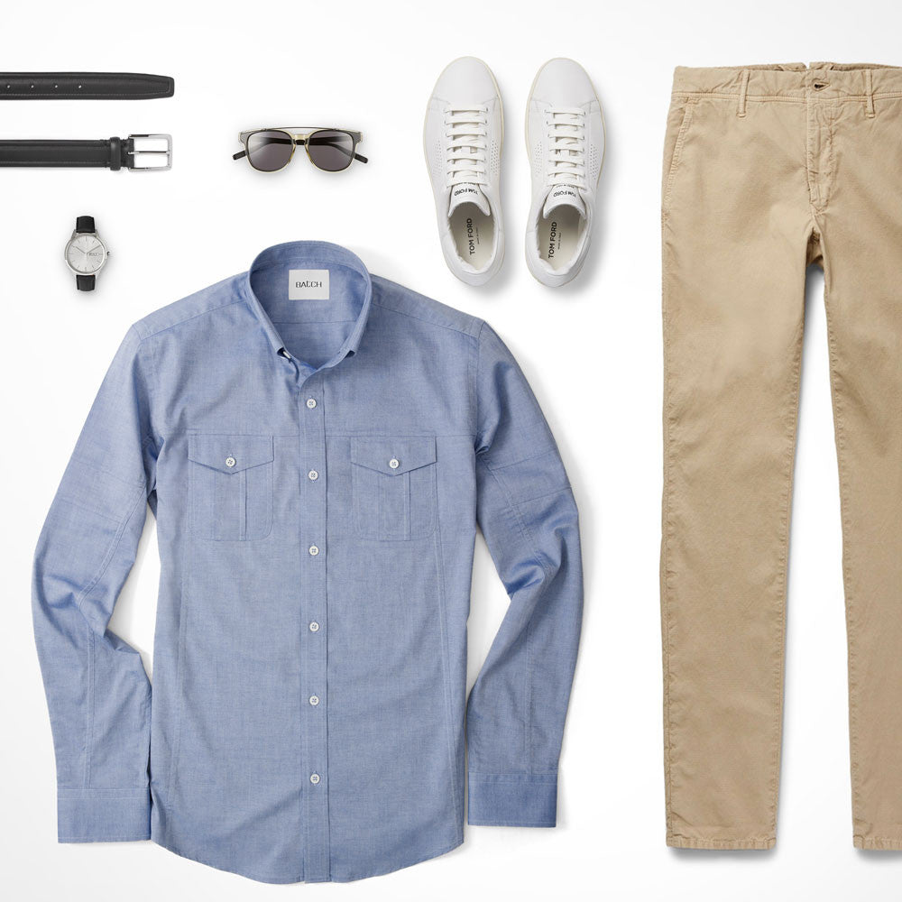 Utility Shirt Classic Look