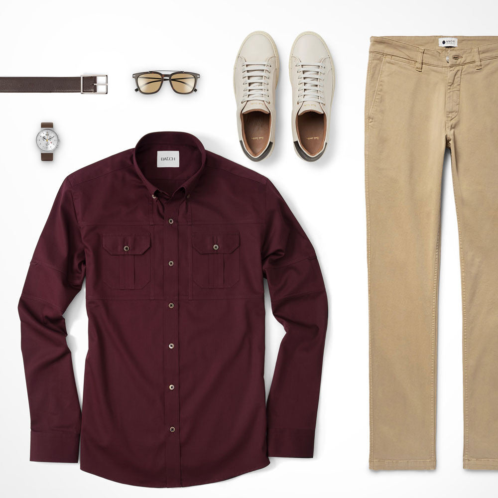Utility Shirt Colorful Look