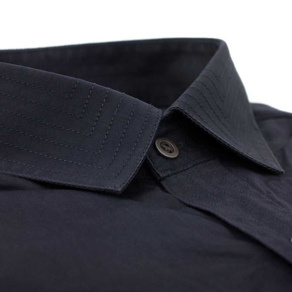 Utility Shirts Collar Detail