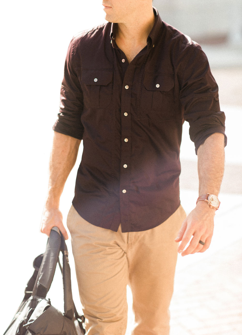 Utility Shirts Rolled Sleeves