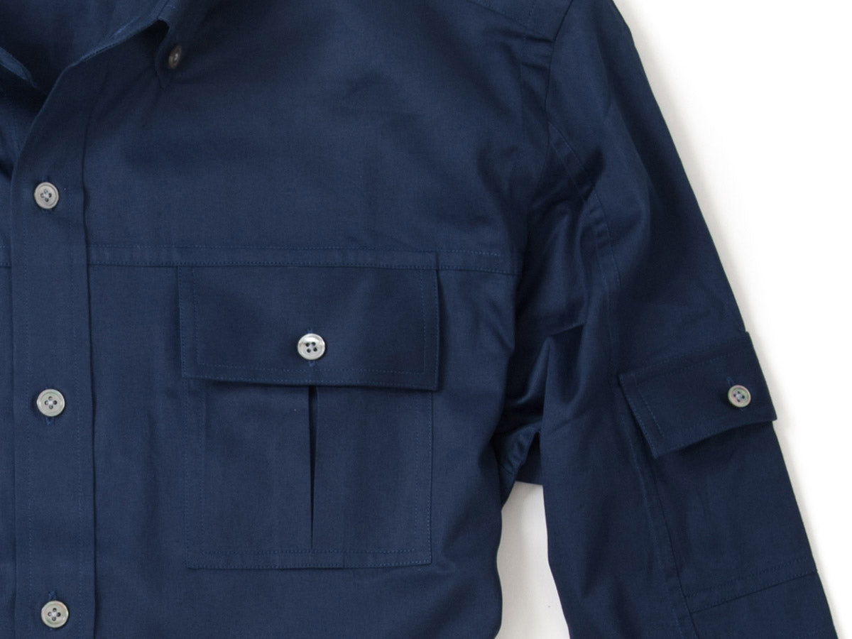 Utility Shirts Seams in Navy