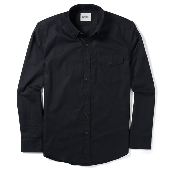 Author Casual Shirt – Jet Black