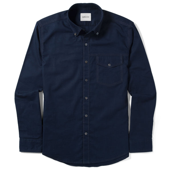 Author Casual Shirt – Dark Navy Stretch Cotton