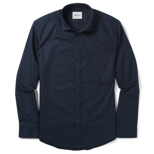Blackout Shirt - Dark Navy Twill