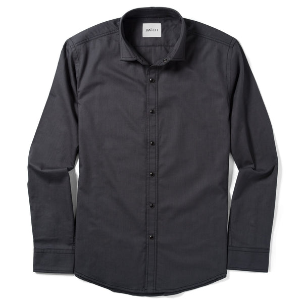 Blackout Shirt - Dark Graphite Twill