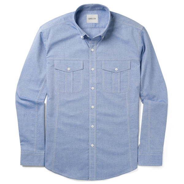 Editor Shirt – Classic Blue Oxford