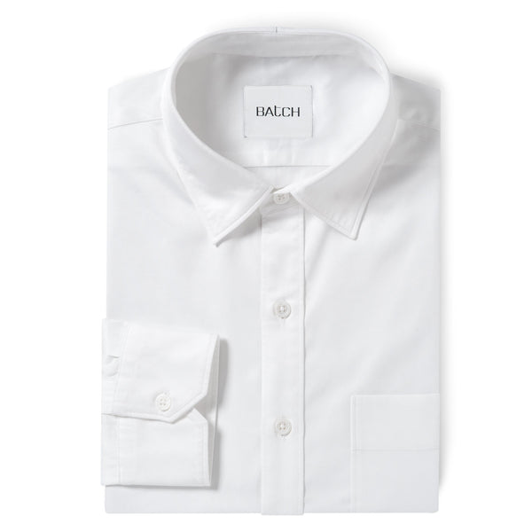 Essential SC Shirt One Pocket - Pure White Wrinkle Defiant Twill