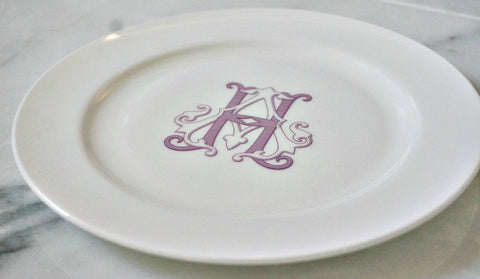Bone China Salad Plate - The Gabriel Collection