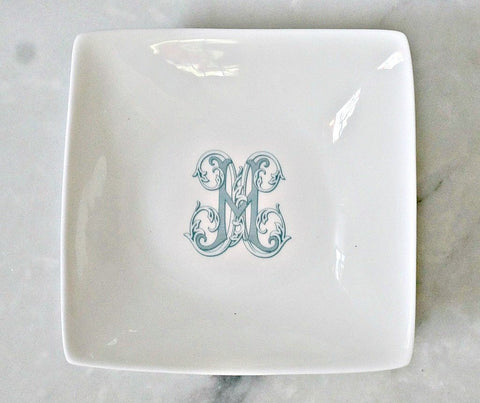 Bone China Petite Appetizer Dish - The Gabriel Collection