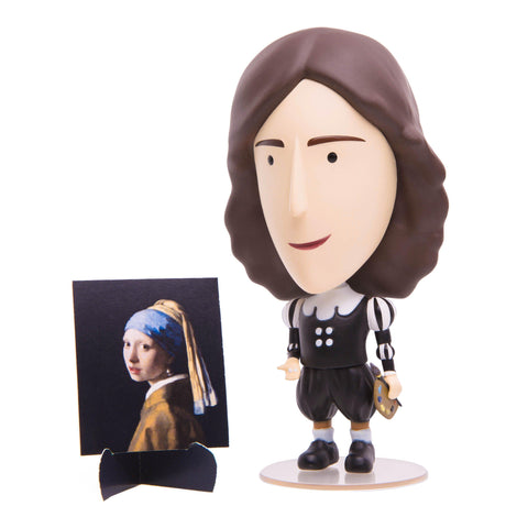 Johannes Vermeer Action Figure-Today is Art Day-The Impractical Pig