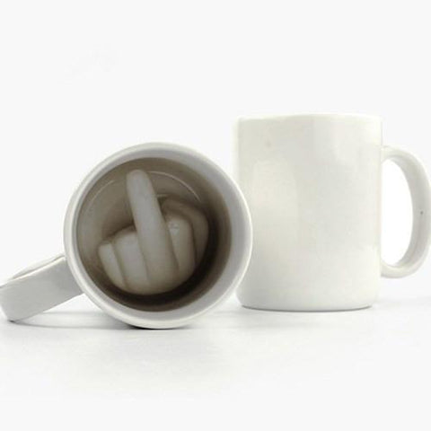 'Up Yours' Mug-Punch-The Impractical Pig