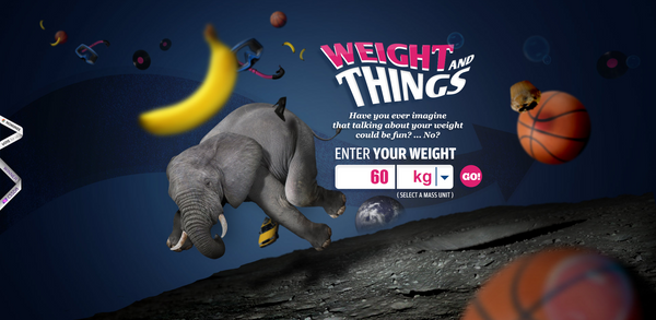 weight and things website