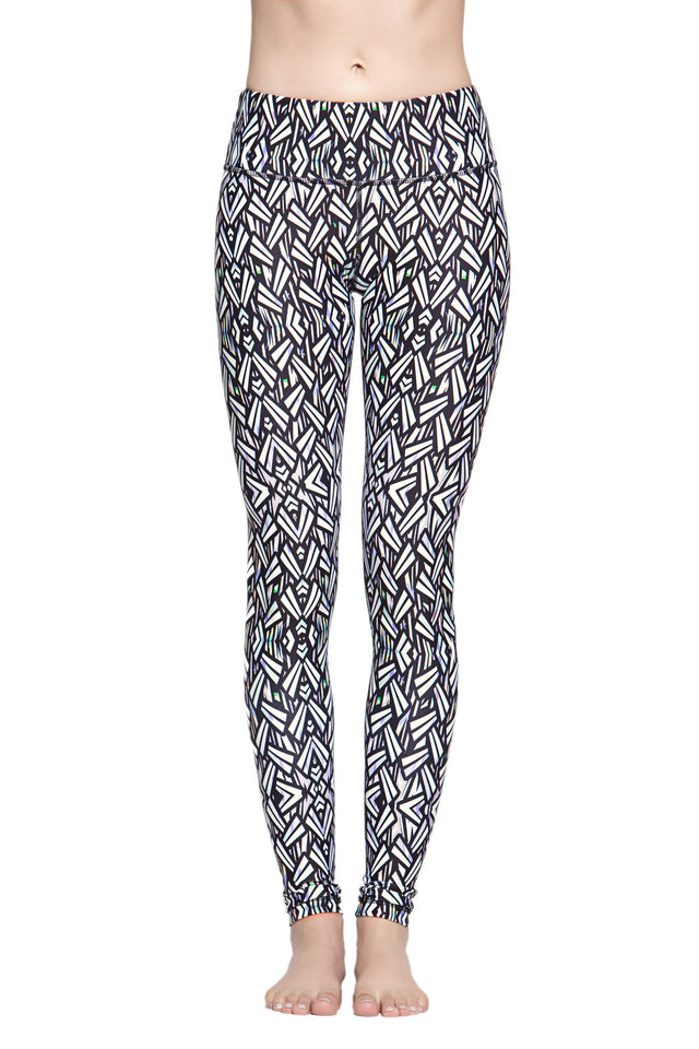 Lucky Graphic Leggings - Geometric
