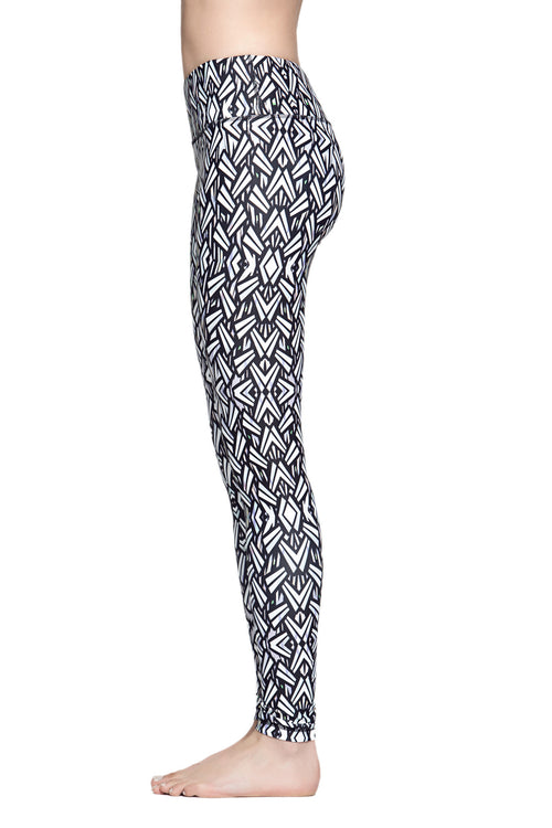 Lucky Graphic Leggings - Geometric - SALE