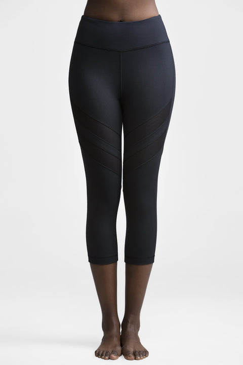 Sevyn Cropped Leggings - Titika Active Couture™ (Hong Kong)