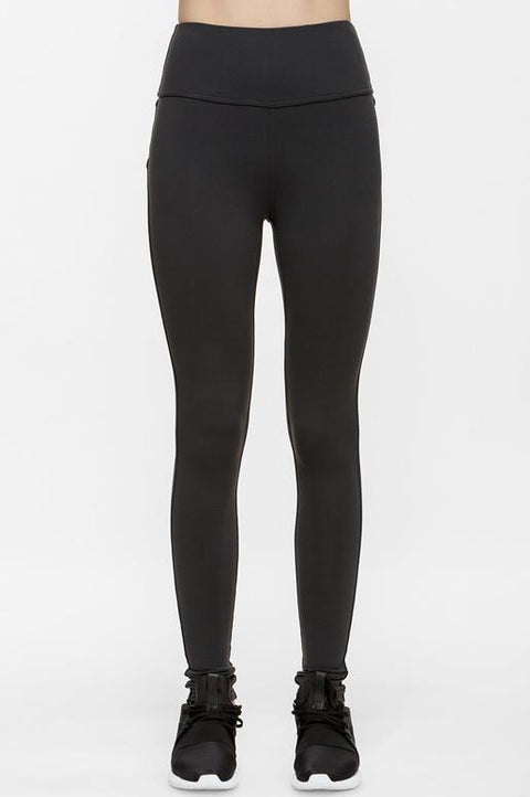 Lucky High Waist Dark Grey Leggings