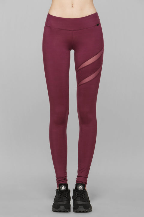 Heart Mesh Cut Out Leggings III