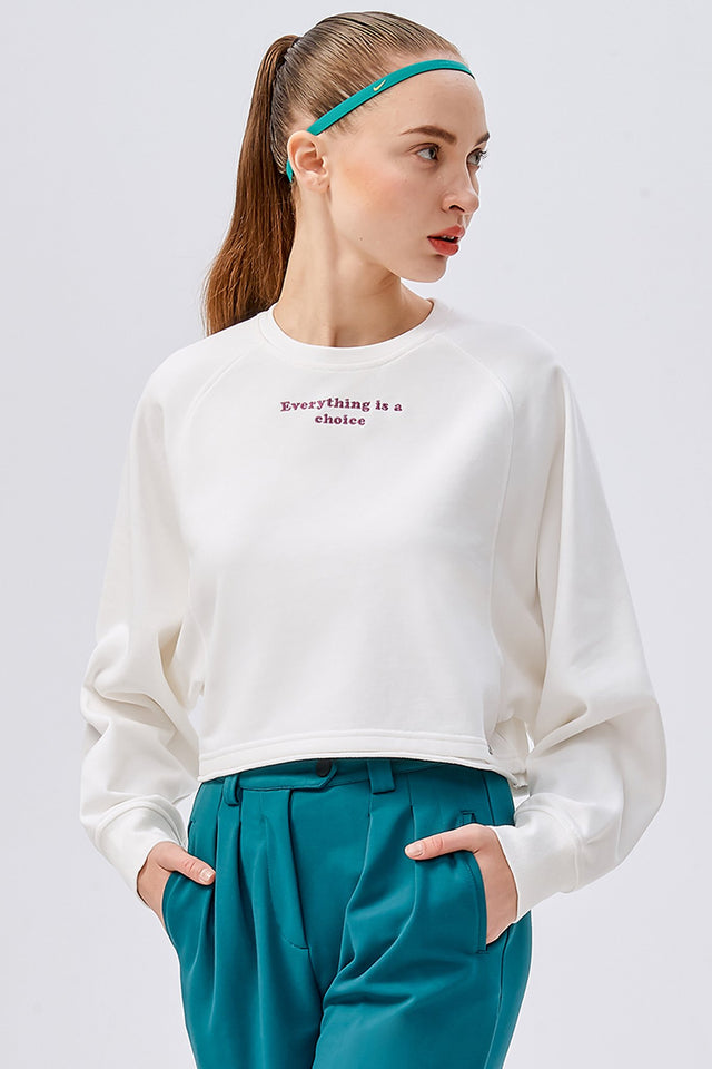 Choice Cropped Sweatshirt