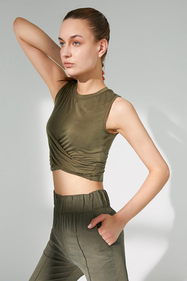 Wrapped Tank - Green