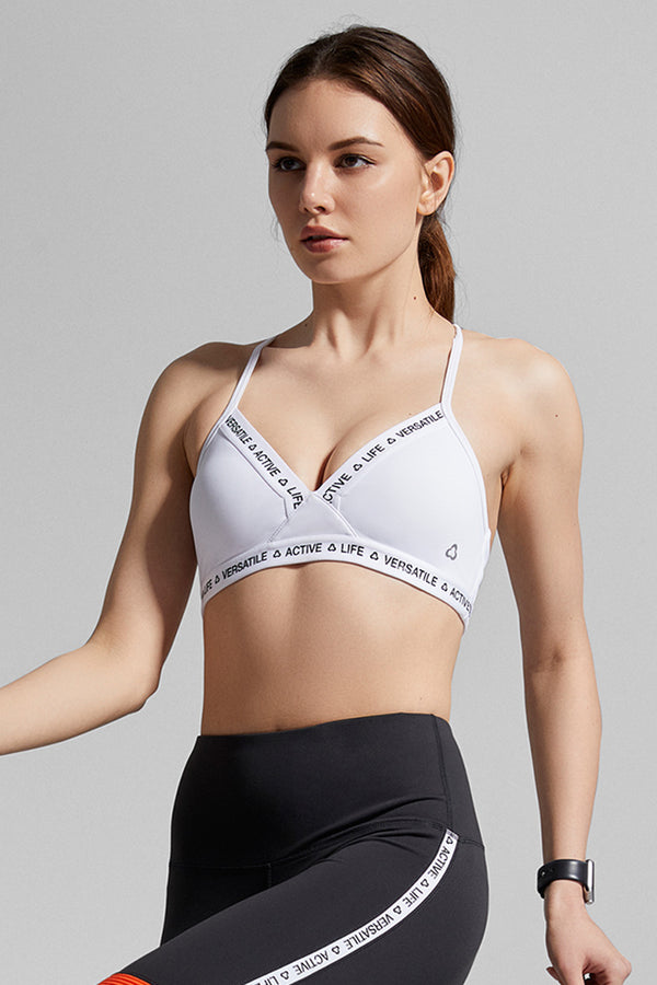 Twist Bralette - White