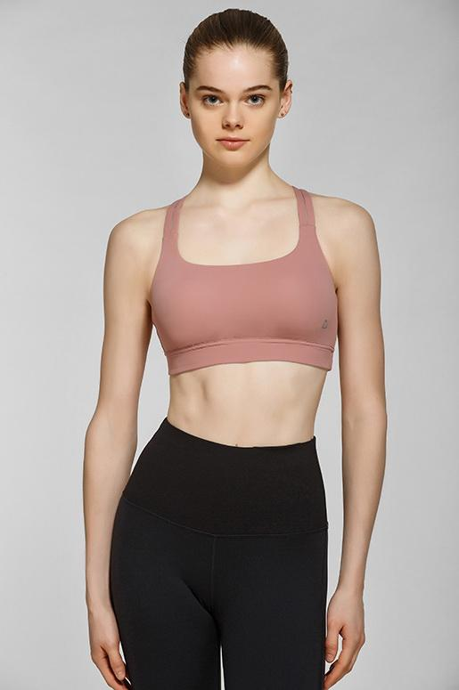 Taisha Light Impact Bra- Neutral Rose