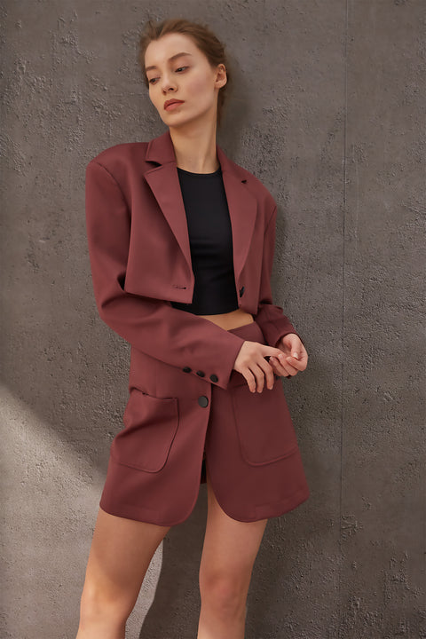 A New Route Cropped Suit