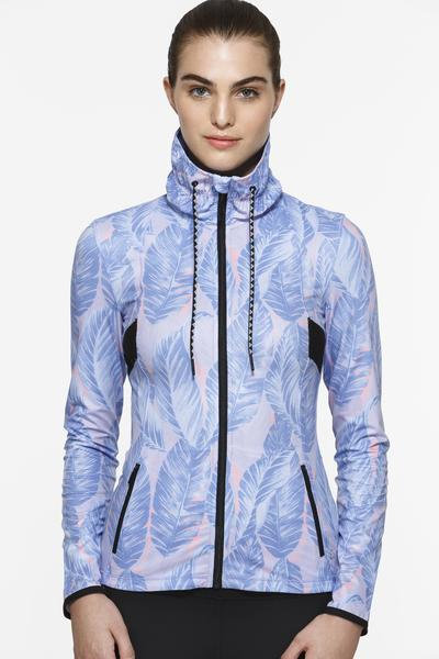 Graphic Kizzie-Blue Garden Jacket