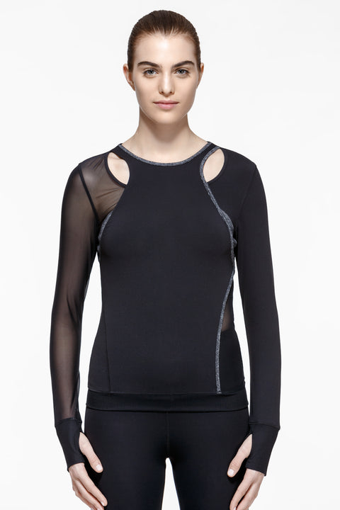 Mono Performance Cut-Out Shirt